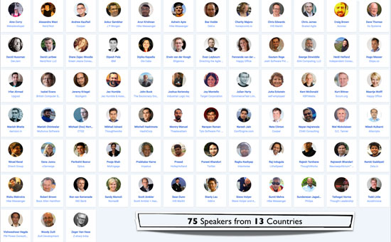 Agile India 2017 Conference Speaker Country